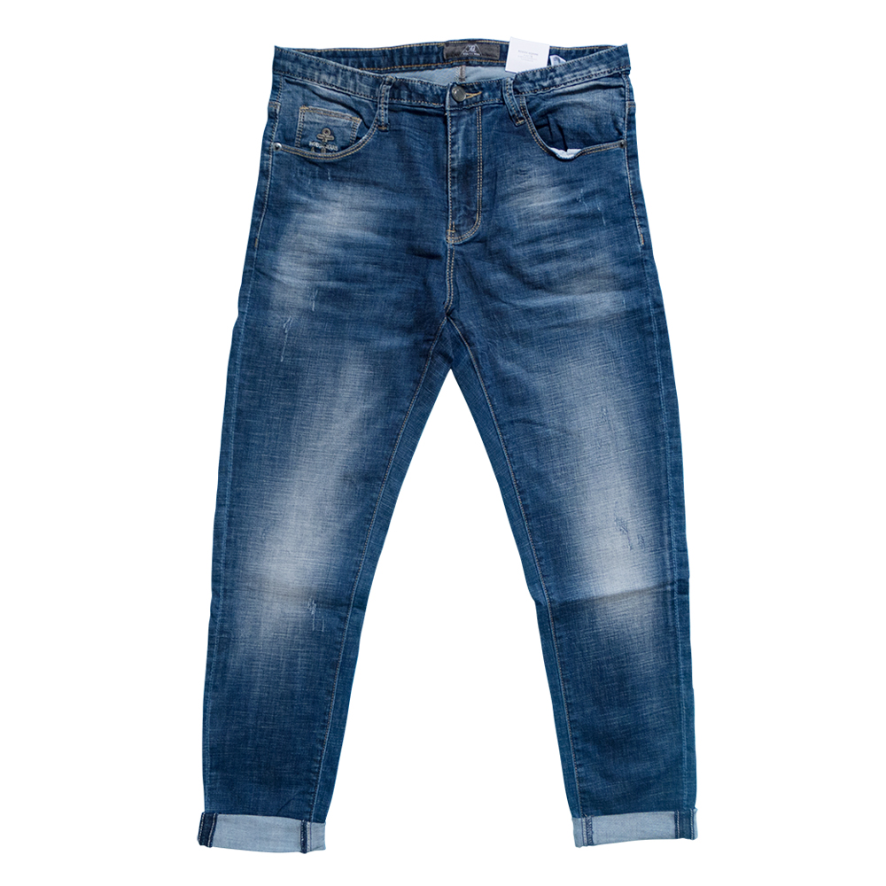 2017 New Arrivals Fashion autumn Spring high quality brand jeans men elastic male denim pants casual men jeans male trousers shark autumn new italy classic blue denim pants men slim fit brand trousers male high quality cotton fashion jeans homme 5301
