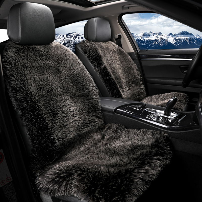 2018 brand new arrival artificial fur hot car seat cushions in winter not moves keep warm seat covers quality guarantee