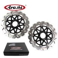 Arashi 2PCS For DUCATI MONSTER S2R 1000 2006 2007 CNC Front Brake Disc Brake Rotors PAUL SMART LE 1000 2006 2007 ST2 ST3 ST4 GT