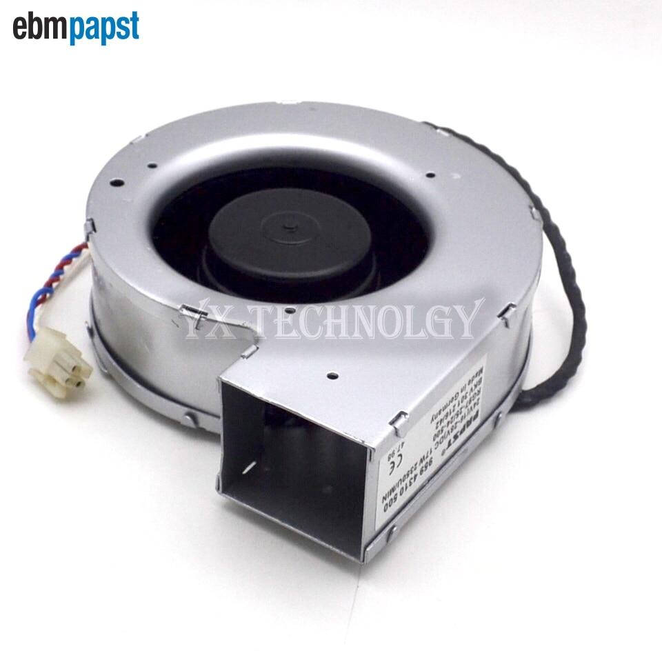 ebm papst  centrifugal fan cooling fan blower fan 24V 17W RG97-25  24-500A  138 * 140 * 40 new original german ebm papst rl90 18 56 ac220v 20w centrifugal blower cooling fan