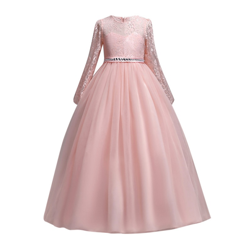 Wedding Dress For Girl Kids Princess Dress Party Formal Vestido Children Girls Dresses Mesh