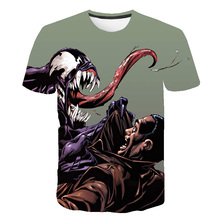 2019 New Tshirt men Woman Newest Venom Anime 3D Printed T-shirts Men Summer Casual Fitness T Shirt Tees Casul Tops