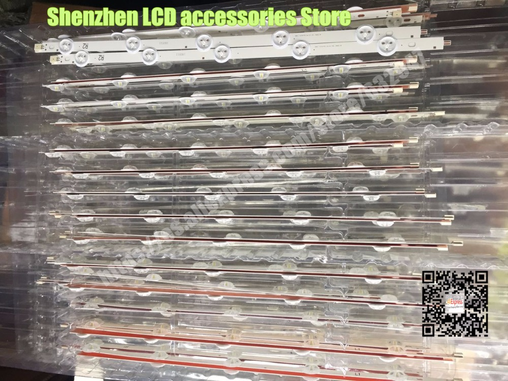 10 Pieces/lot  FOR LG  42-inch  LC420DUE(SF)(R1) LCD Backlight Bar  6916L-1412A 1413A 1414A 1415A   R1+L1=824MM