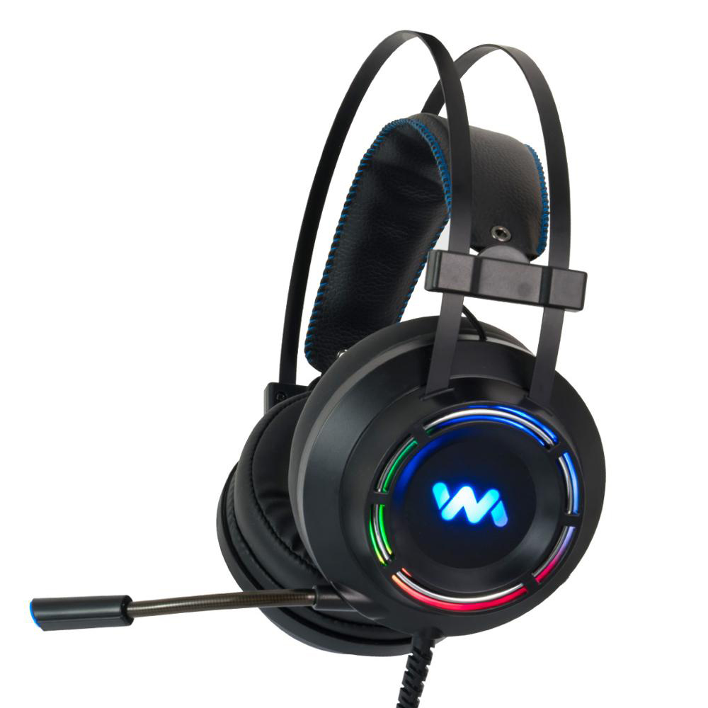 ZOP Gaming Headset With Microphone  7.1 Sound Heavy Bass Game Headset For PC Gamer PS4 Xbox One Phone