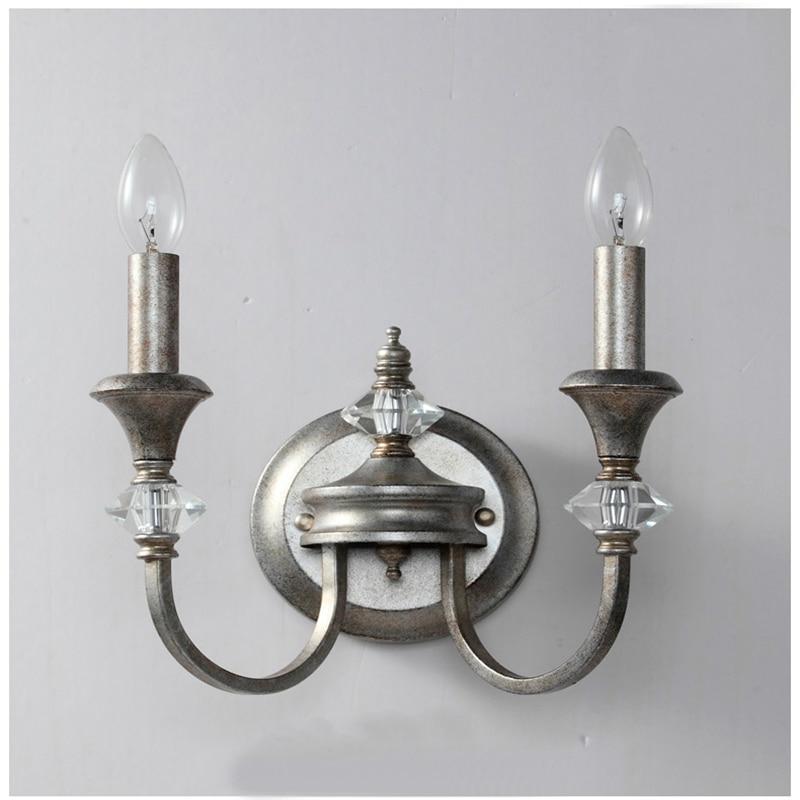 K9 Kristalne svjetiljke od kovanog željeza, svijetleće zidne - Unutarnja rasvjeta - Foto 4