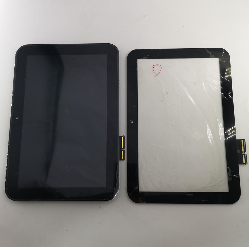 10.1 inch for Toshiba AT300SE Tablet PC LCD Display touch Screen Digitizer Glass Panel with frame Replacement parts Tablet LCDs & Panels     - title=
