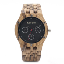 Dřevěné hodinky – Ervin