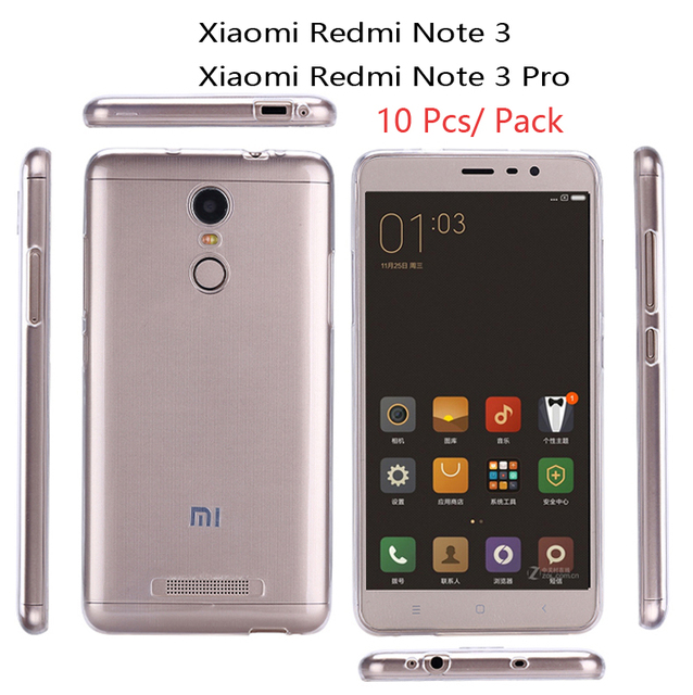 info for 11c1c a9eaa US $8.42 15% OFF|10 Pcs case For Xiaomi Redmi Note 3 Transparent Clear TPU  Back Cover For Redmi Note 3 Pro Protect Skin Silicone soft case-in Fitted  ...