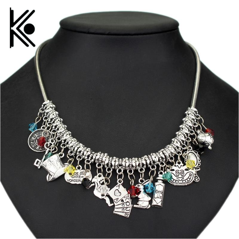 "wholesale Alice in Wonderland choker necklace ""Drink Me ..."