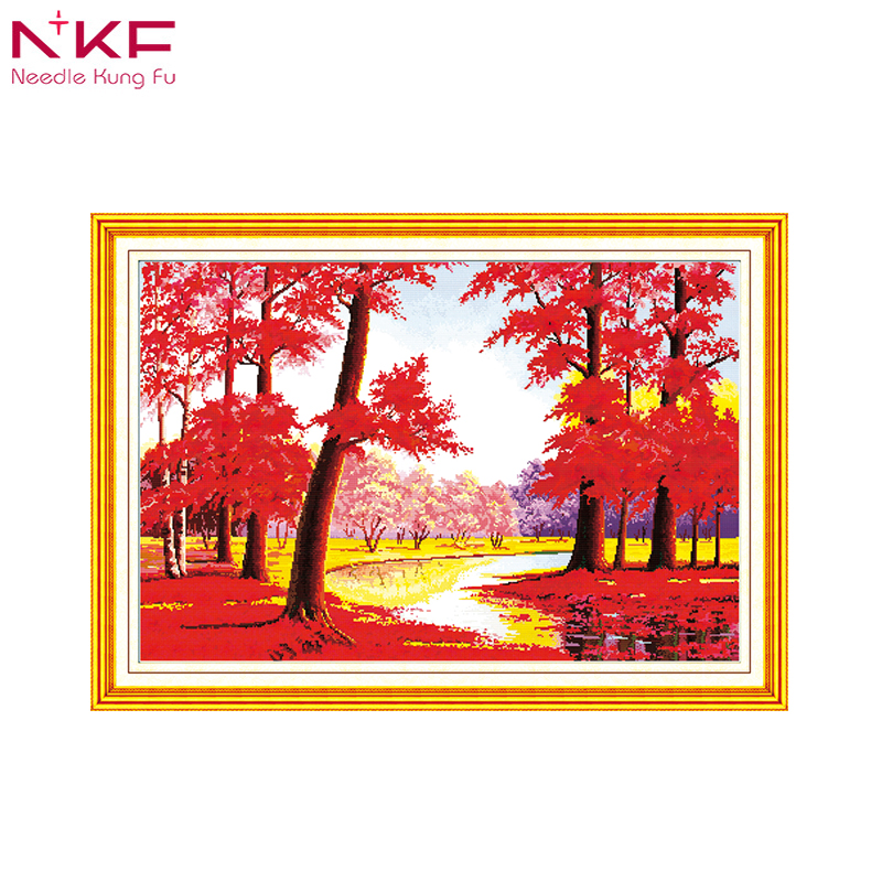 NKF Opportunity Knocks home decor counted printed canvas cross stitch pattern diy kits DMC11 14ct embroidery needlework setsNKF Opportunity Knocks home decor counted printed canvas cross stitch pattern diy kits DMC11 14ct embroidery needlework sets