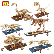 LOZ New Arrival Dinosaurs Educational DIY Building Model font b Toys b font Fossils Model Building
