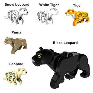 6 Styles Mini Figures Wild Animals Snow Toys For b053a03076eb6