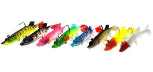 Image 5 - WLDSLURE 1Pc 27g/12cm miękkie ołowiu ryby połowów morskich błystki sztuczna przynęta Jig Wobblers gumy krzemu Bass Lure