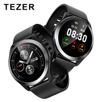 TEZER Z03 ECG PPG Smart Watch With ECG Playback Diagram Blood Pressure Heart Rate Monitor Adjustable Brightness Smartwatch