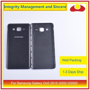 Image 4 - 10 teile/los Für Samsung Galaxy On5 2015 G550 G550F SM G550FY Gehäuse Batterie Tür Hinten Rückseite Fall Chassis Shell