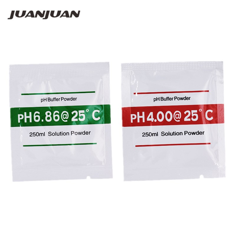 200Pcs PH Buffer Powder for aquarium PH meter PH Test Meter Measure Calibration Solution 4 0