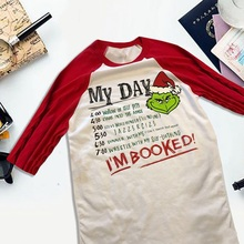 c14cd4803 New Arrival Spring Autumn Style Women Harajuku T Shirt Long Sleeve Merry  Christmas Letter Printed T