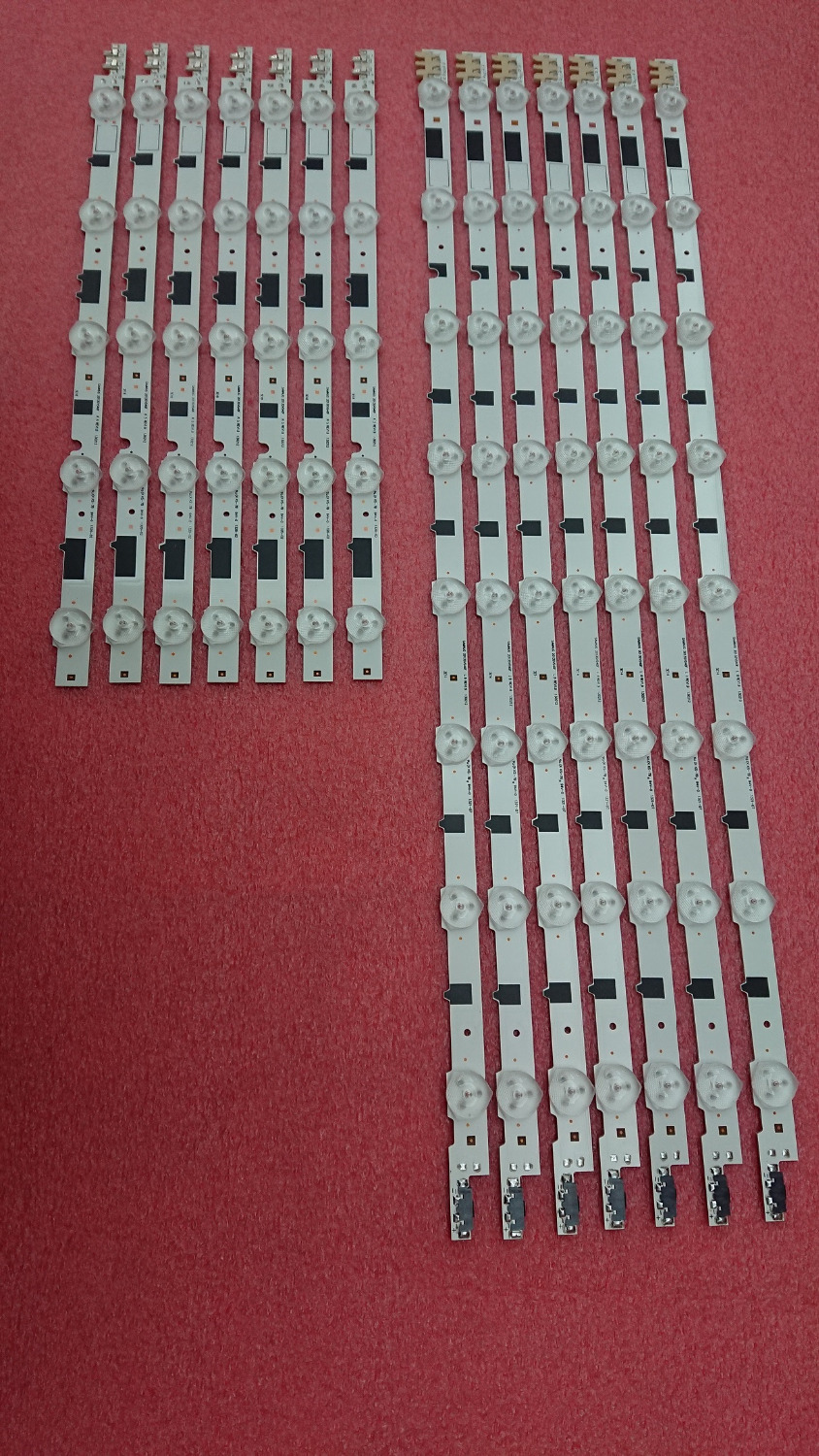 New Kit 14pcs 7 R 7 L LED backlight strip Replacement for samsung UE40F5000 BN96 25520A