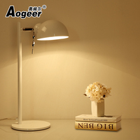 Long Swing Arm adjustable classic desk Lamps E27 LED with switch Table Lamp for Office Reading night Light bedside home