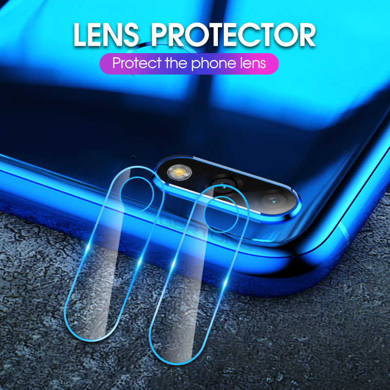 2PCS/Lot Camera Lens Film Glass For Huawei Y9 Y7 Pro 2019 Y5 Y6 Prime 2018 Protective Film Camera Cover Screen Protector