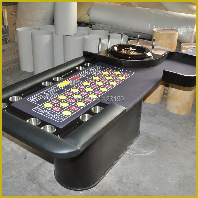 CZ-008 Poker Table, Roulette Game, 240*120cm, the Roulette Wheel not included lucky shot drinking roulette game 6 cup set