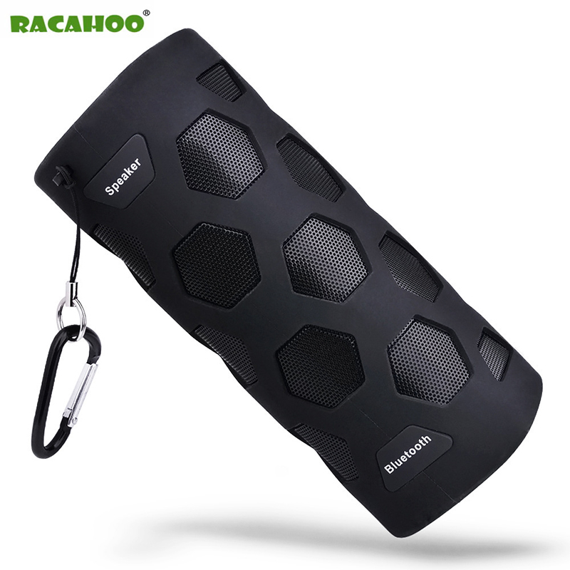 RACAHOO NFC Wireless Bluetooth Speaker Wwith Powerbank Waterproof Portable Outdoor Mini Column Box Stereo Loudspeaker For Phone