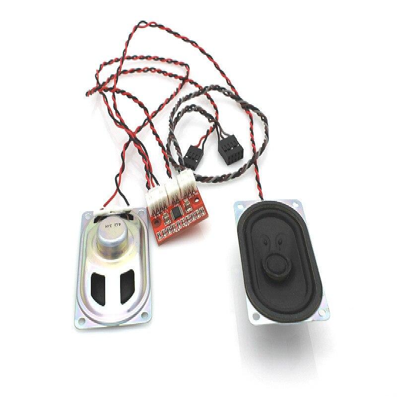 New 5V digital small power amplifier board 2*3w audio amplifier accessories Loudspeaker