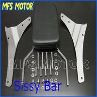 Motorcycle parts Skull Backrest Sissy Bar For Suzuki Boulevard M50 C50 C50T Intruder Marauder