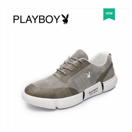 Playboy 2018 new style Korean casual shoes, mens sports, breathable fashion shoes, high quality wholesale Playboy 2018 new style Korean casual shoes, mens sports, breathable fashion shoes, high quality wholesale