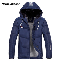 NaranjaSabor Winter Men S Jacket 2017 Brand Clothing Mens Jackets Men S Casual Coats Thick Parkas