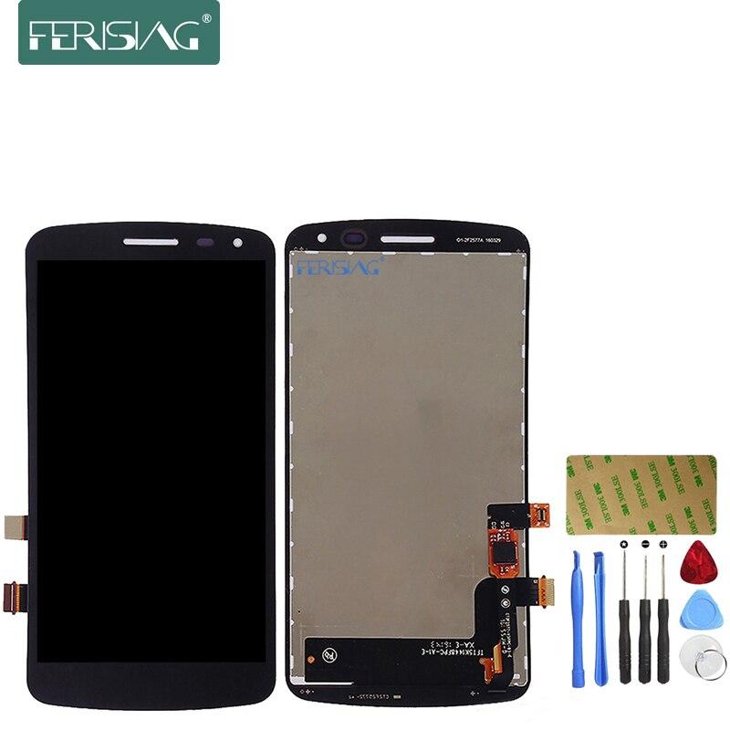 imágenes para Ferising AAA Pantalla LCD Para LG Serie K K5 X220 X220MB X220DS Reemplazo de Pantalla Táctil Digitalizador Asamblea + Herramientas Kit
