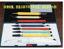 1Se פחמן סגסוגת פלדה מזויף שף מיוחד מזון גילוף מגולף למשוך סכין סט
