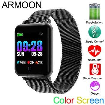Smart Watch M19 Heart Rate Bracelet Sleep Monitor Fitness Tracker Blood Pressure Watch Waterproof Color Screen Multi Sports Band