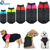 Winter Warm Medium Big Pet Dog Clothes Winter Padded Waterproof Coats Pet Costume Clothing Ropa for Large Dog Pet 2XL-5XL