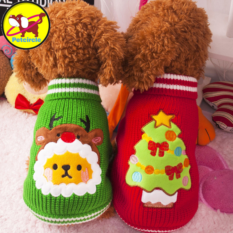 겨울 따뜻한 양털 강아지 옷 후드 크고 작은 강아지 코트 강아지 옷 크리스마스 요정 개 의상 코트 애완 동물 스웨터