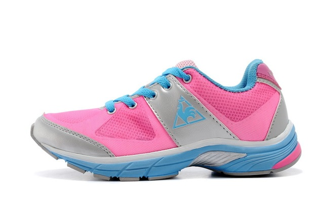 save off 27601 eafe1 Free Shipping Original Le Coq Sportif Women s Running Shoes Sneakers Women  Shoes Sky Blue Pink Color Size Eur 36-39
