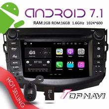 TOPNAVI 7 Android 7 1 Auto Multimedia Players for Toyota RAV4 2006 2007 2008 2009 2010