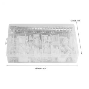 Image 5 - 1220pcs XH2.54 2p 3p 4p 5 6 7P 8 9pin 2.54mm Pitch Terminal Housing /Pin Header