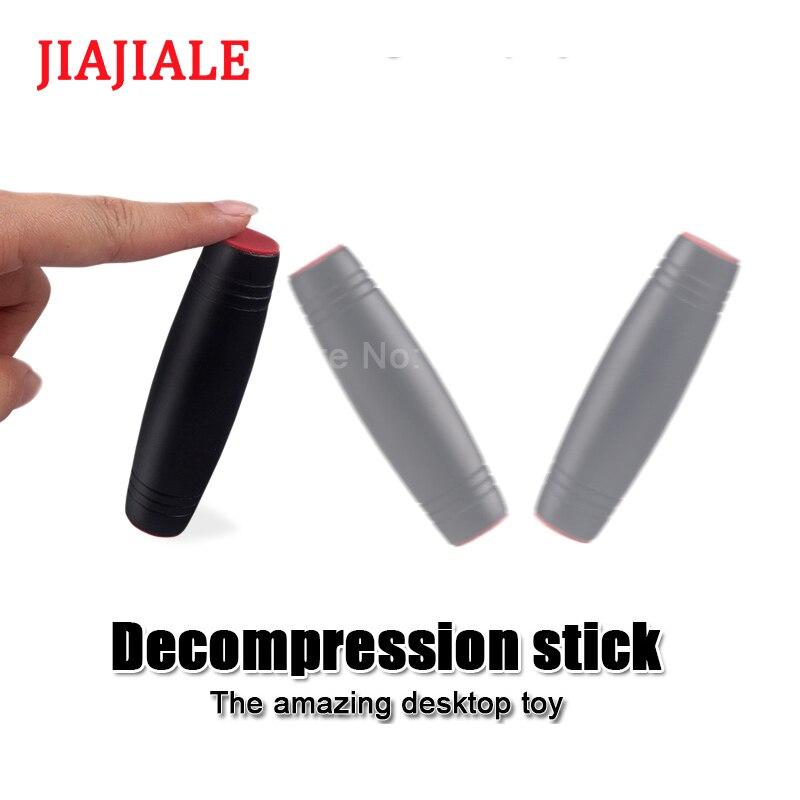 Japan Toy Mokuru Fidget Stick Decompression Desktop Toy Roller Flip Rod Manual Acrobatic Desktop Improve Attention Reaction Toy