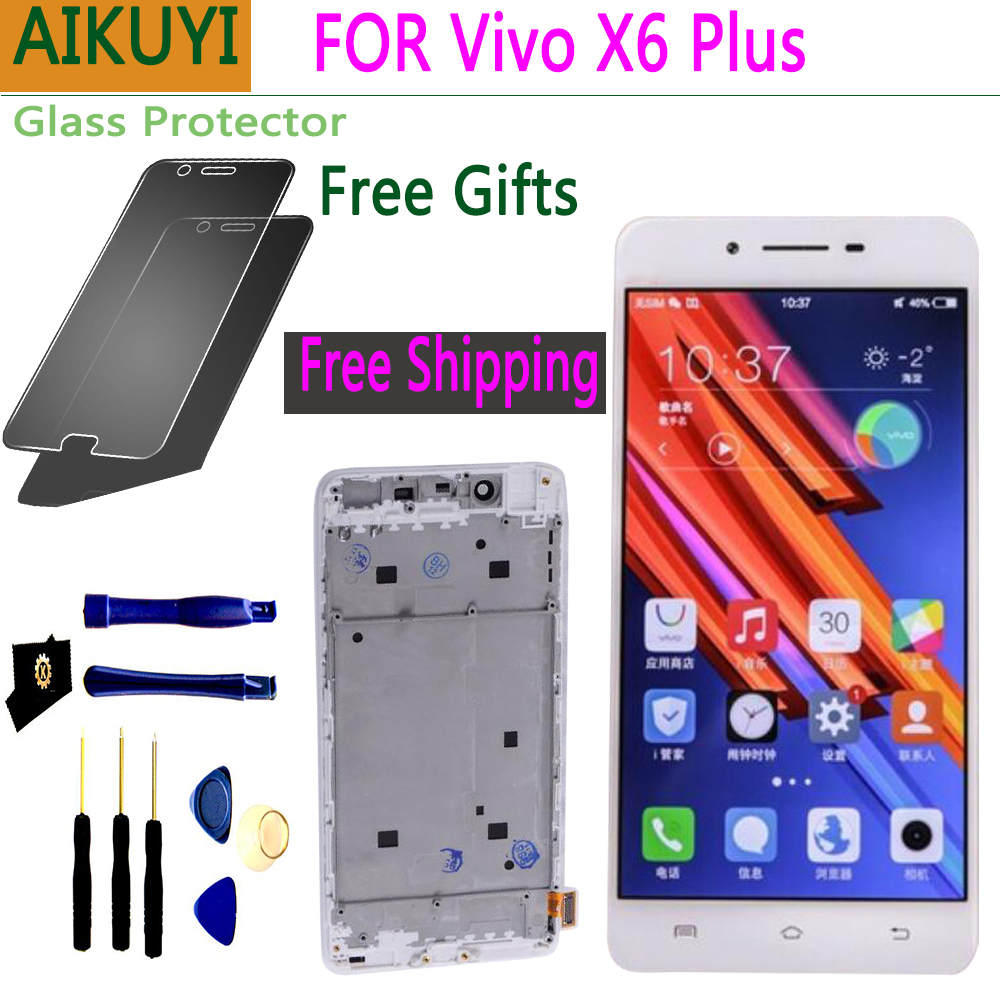 5.7 NEW Original screen for Vivo X6 PULS LCD Full Touch Display touch X6PULS with frame Digi