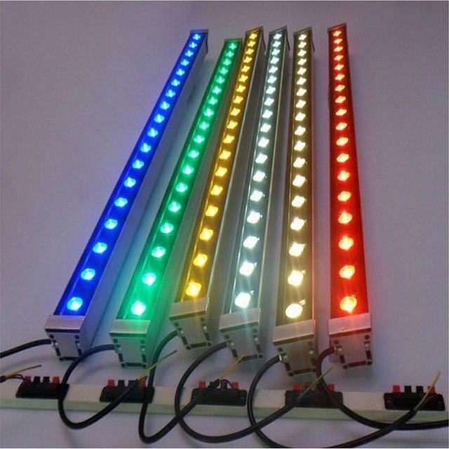 10pcs LED Wall Washer 6W 9W 12W 36W DMX 512 110V 220V RGB