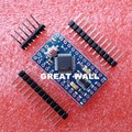 10pcs/lot Pro Mini 328 Mini 3.3V 8M ATMEGA328 3.3V 8MHz for arduino