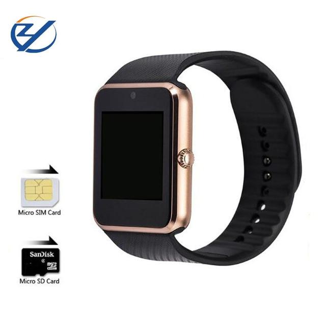 Zaoyimall Bluetooth Smart Watch gt08 Носимых устройств поддержка SIM карты памяти для iphone huaiwei Xiaomi телефона Android PK U8 dz09