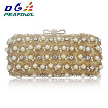 a70cba3f52 Fashion Red Rose Flower Round Beaded Crystal Evening Party Clutch Bag Chain  Women Nigerian Wedding Shoes