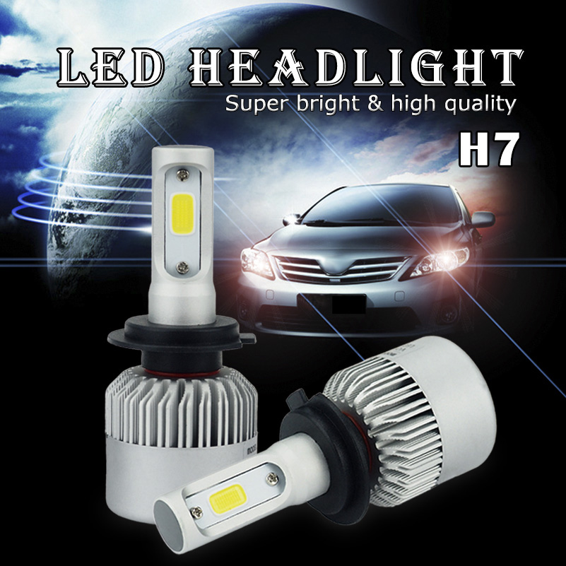 buy canbus h7 h4 9003 h1 car led headlight high low beam headlamp for vw polo. Black Bedroom Furniture Sets. Home Design Ideas