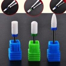 Biutee 1 x M size Nail Art Drill - Ceramic Foot Bit - White Nail Bit N