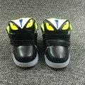 Crianças monstro pequeno casual shoes meninos e meninas luzes led sports shoes sneaker para a criança pequena