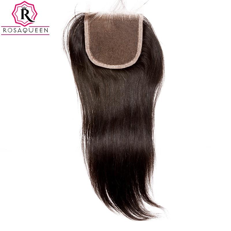 Dolago čipke zaprtje z otroškimi lasmi naravnost Remy las naravne - Človeški lasje (za črne) - Fotografija 3