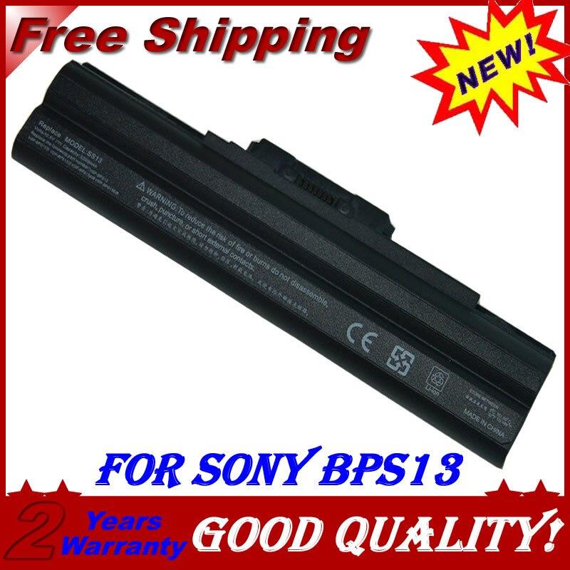 Batterie d'ordinateur portable pour Sony GP-BPS13B/S VGP-BPS13S VGN-SR94VS VGN-SR94VS VGN-SR94GS VGN-SR94HS VGN-NW91VS VGN-NW91GS VGN-FW94GS
