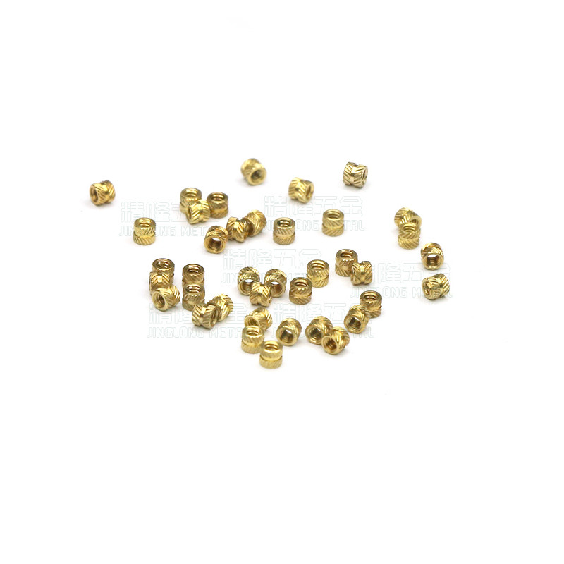 100pcs/lot M1 M1.2 M1.4 M1.6 M2 M2.5 M3 Brass insert nut knurled copper nuts with straight/slanting knurling brass insert nut insert nutm3 brass insert - AliExpress